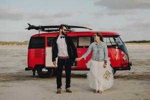 Rust Romance - Bulli für Hochzeiten - Hafenliebe