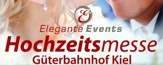 Die Kieler Hochzeitsmesse im besonderen Ambiente des Güterbahnhof Kiel findet am 28. und 29. Januar 2017 statt.