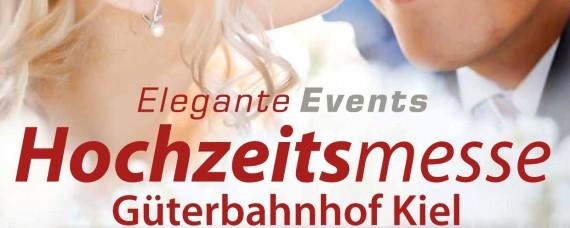 Hochzeitsmesse in Kiel im alten Kieler Güterbahnhof am 24. + 25. Februar.